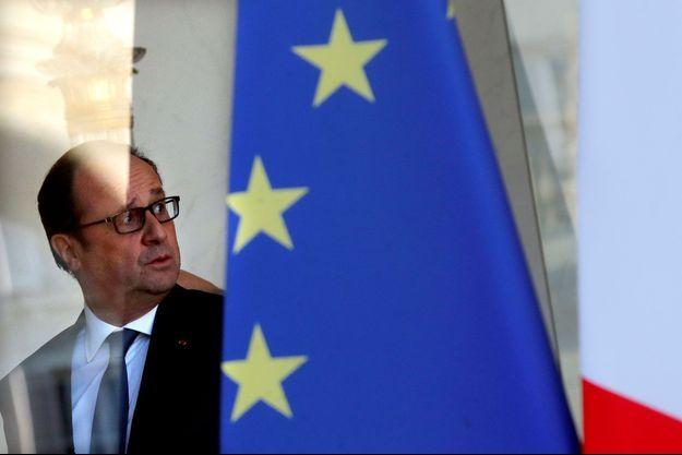 François Hollande, mercredi à l'Elysée.