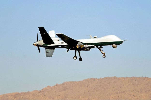 Le drone américain Reaper (photo d'illustration)