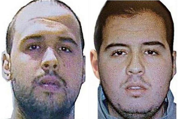 Khalid et Ibrahim El Bakraoui, les deux frères morts en kamikaze le 22 mars à Bruxelles, tuant 31 personnes.
