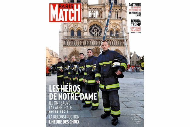 La couverture du numéro 3650 de Paris Match