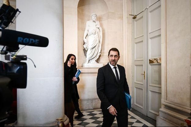 Christophe Castaner mercredi à l'Assemblée nationale.
