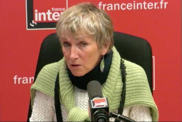 Anne Bert, sur France Inter mercredi.