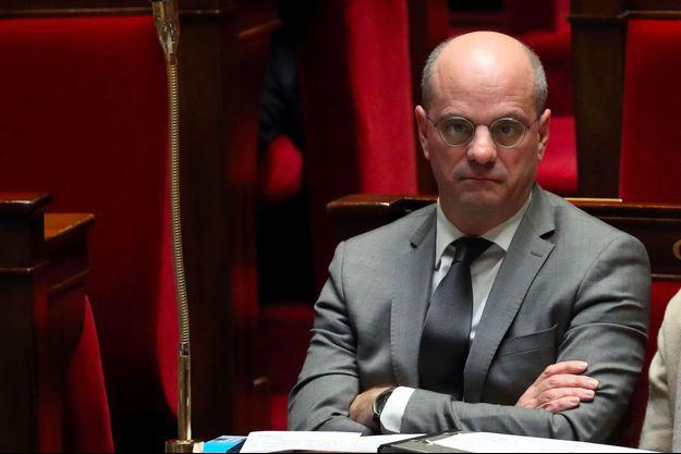 Jean-Michel Blanquer à l'Assemblée nationale le 20 février.