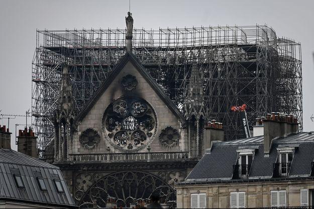 Notre-Dame de Paris, le 16 avril 2019.