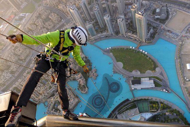 A Dubai, les cordistes sont... débordés !