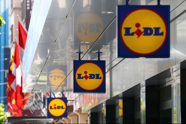 Un magasin Lidl à Genève.