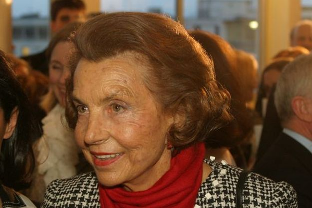 Liliane Bettencourt. Photo Bruno Bachelet.