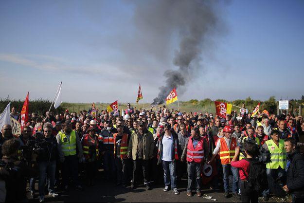 La mobilisation continuait ce vendredi à la raffinerie de Donges.