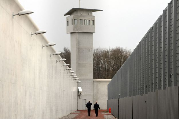 Photo prise dans un centre de détention de Roanne.