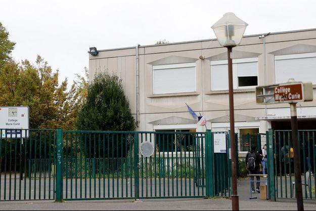 Lycée Marie Curie aux Lilas.