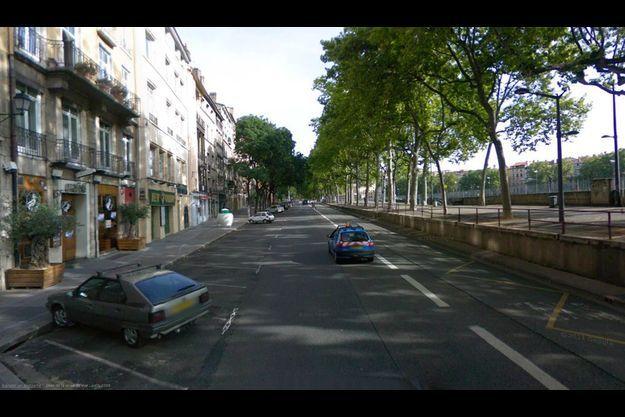 """L'agression s'est déroulée à la sortie de la discothèque """"L'Alibi"""" à Lyon"""