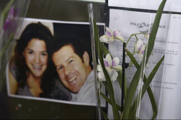 Le couple de policiers tués à Magnanville.