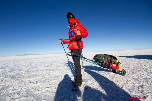 Alban Tessier en Bolivie.