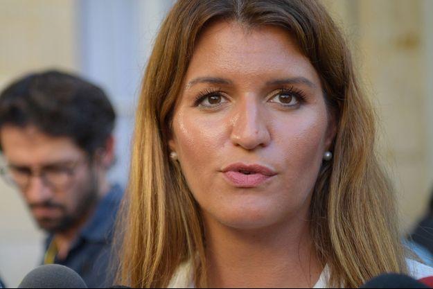 La secrétaire d'Etat chargée de l'Egalité entre les femmes et les hommes Marlène Schiappa.