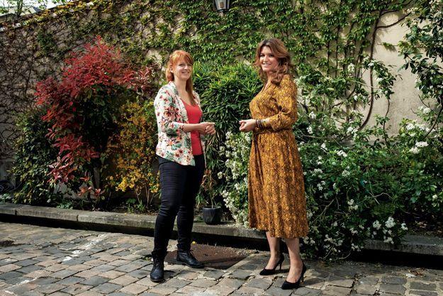 Marlène Schiappa et Ingrid Levavasseur