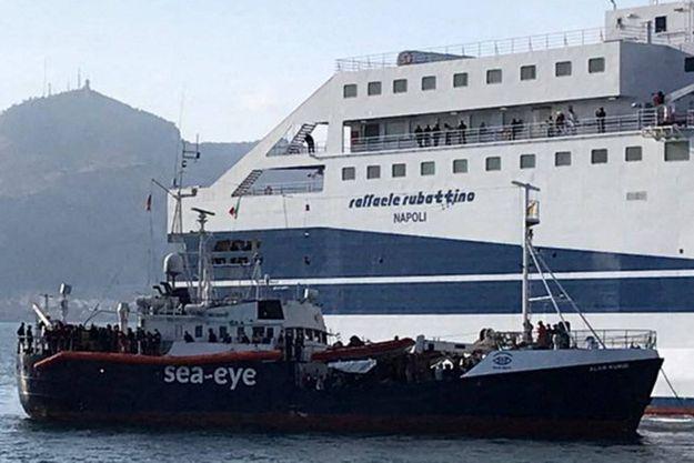 Le Alan Kurdi, navire de l'ONG allemande Sea-Eye, est en route vers les côtes françaises.
