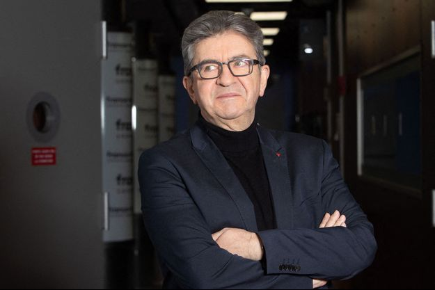 Le leader de la France Insoumise Jean-Luc Mélenchon
