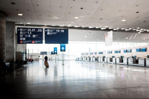L'aéroport Roissy-Charles de Gaulle pendant le confinement.