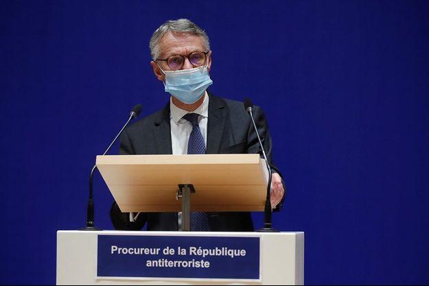 Le procureur de la république antiterroriste, Jean-François Ricard