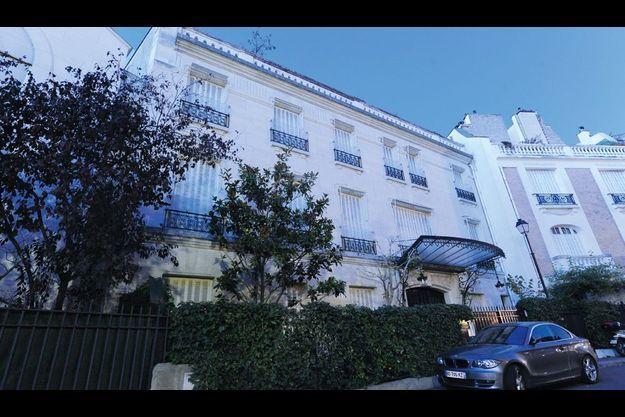 L'immeuble du crime, villa de Madrid, près du parc Saint-James, à Neuilly-sur-Seine.