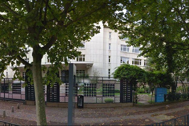 Le lycée Marcelin-Berthelot de Saint-Maur-des-Fossés (Val-de-Marne).