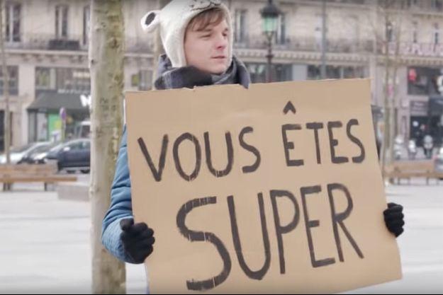 Grégoire Hussenot dans une vidéo publiée en 2015.