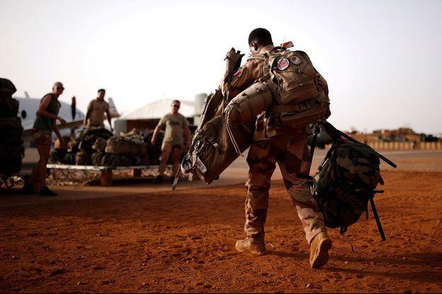 Un soldat français au Mali. Image d'illustration.