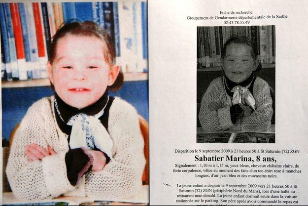 La petite Marina est morte sous les coups de ses parents en août 2009.