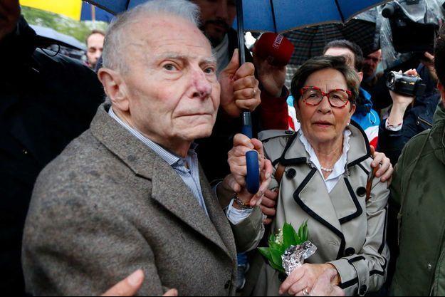 Les parents de Vincent Lambert, en mai 2019.