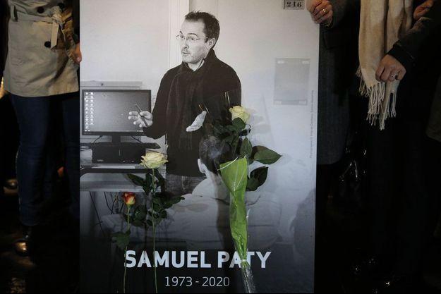 Portrait de Samuel Paty