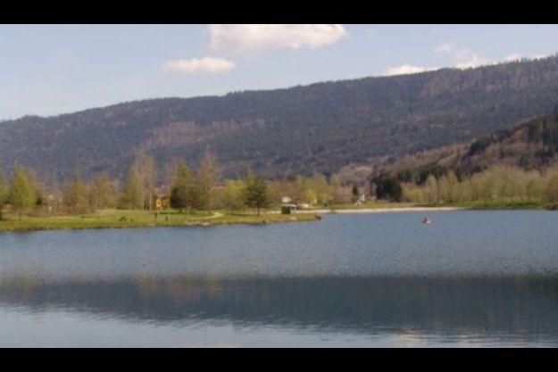 Le lac de la Moselotte.