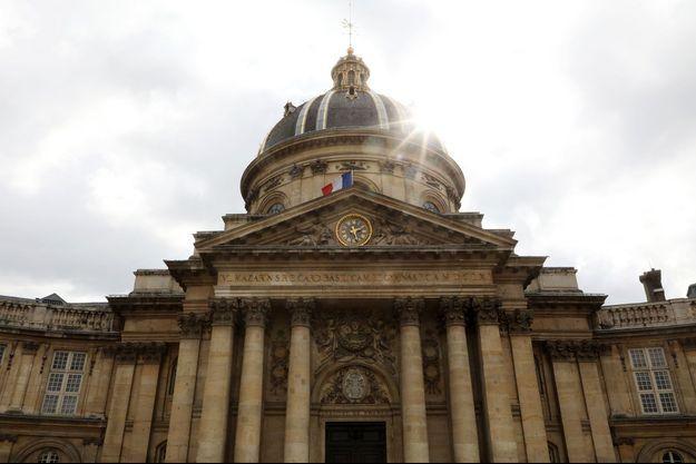 L'Académie française.