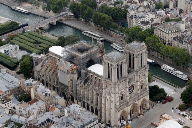 La reprise du chantier de reconstruction de Notre-Dame de Paris est prévue le 19 août.
