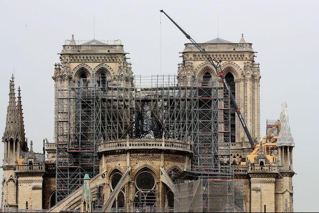 Notre-Dame de Paris, le 23 avril.