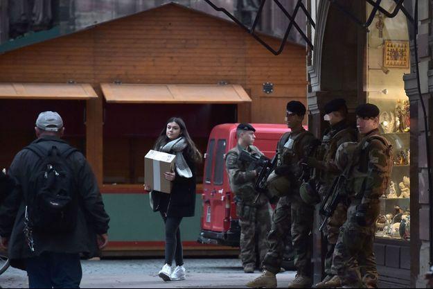 Quatre personnes ont été arrêtées à Strasbourg.