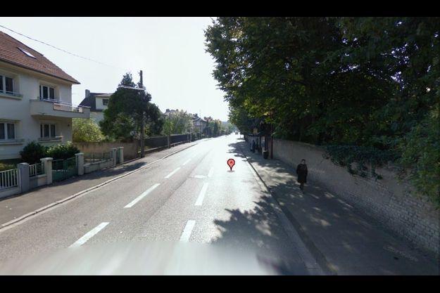 C'est ici, route de Lorry à Metz, que le corps du nouveau-né a été retrouvé
