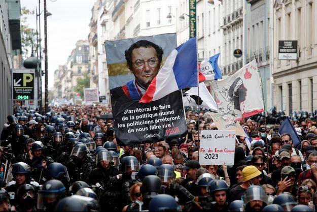 La manifestation à Paris samedi 11 septembre.