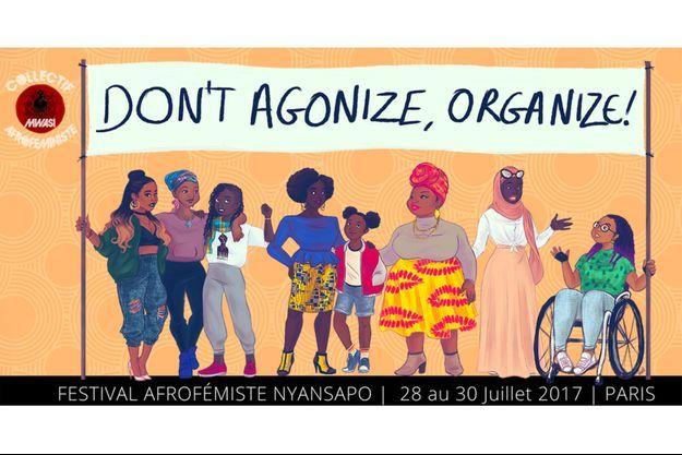 Affiche du Nyansapo Fest.
