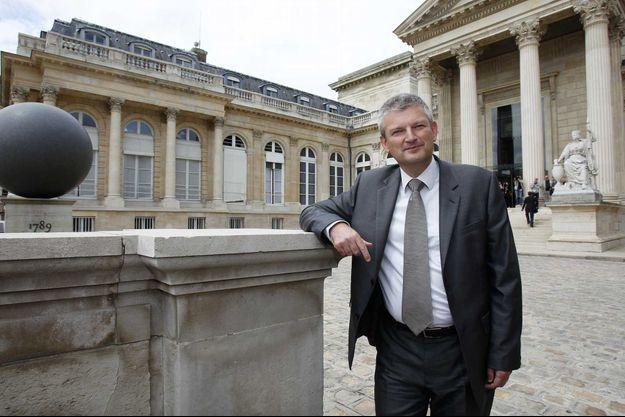 Olivier Falorni (Parti radical de gauche), député de la Charente-Maritime, porteur de la proposition de loi relative au respect de l'animal en abattoir.