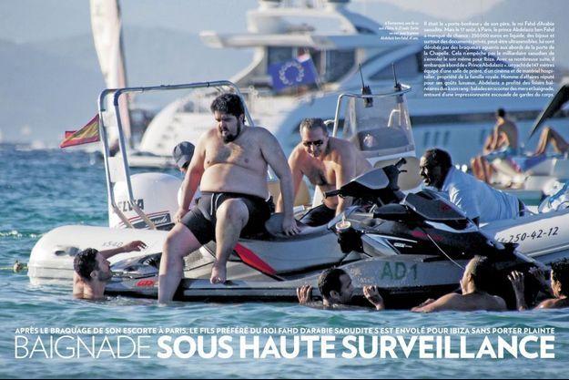 Quelques jours après le braquage, le prince Abdelaziz ben Fahd avait été photographié à Formentera, une île au sud d'Ibiza, le 23 août.
