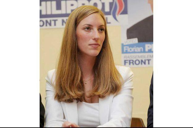 Cassandre Fristot, ancienne élue locale et ex-candidate FN aux législatives de 2012.