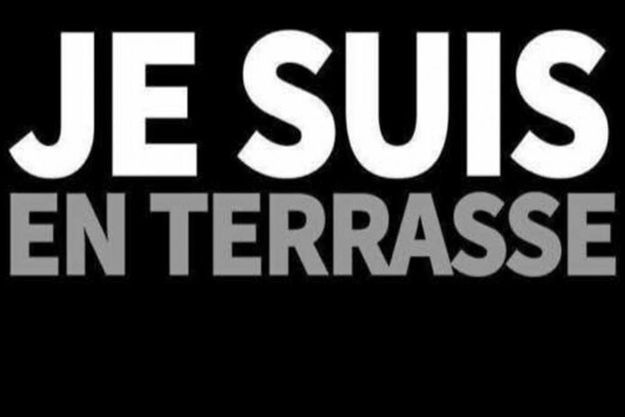 "Le logo ""Je suis en terrasse"""