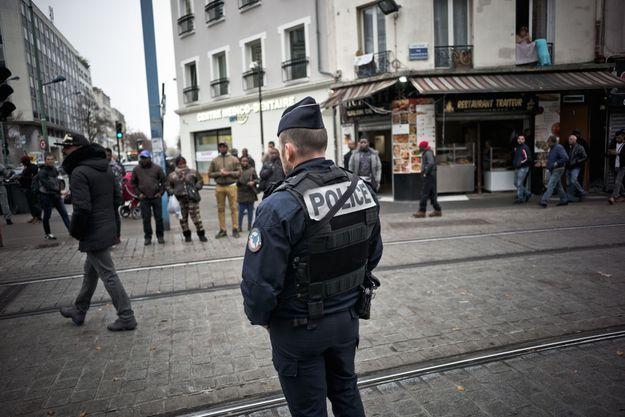 Un policier à Saint-Denis (image d'illustration)