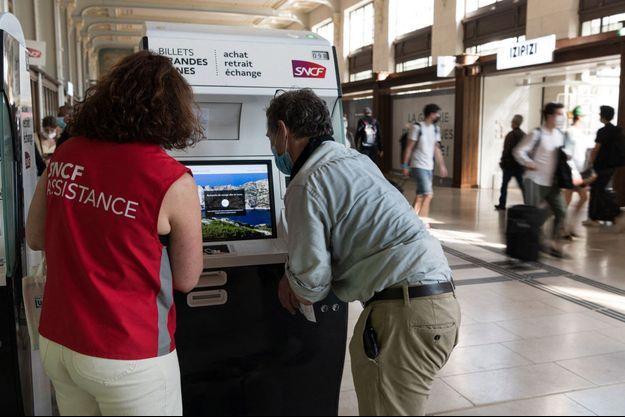 Image d'illustration, ici Gare de Lyon, à Paris le 2 juillet.