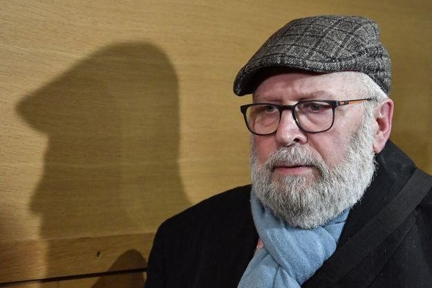L'ex-prêtre Bernard Preynat, jugé à Lyon vendredi.