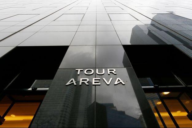 La tour Areva à la Défense, à Courbevoie.