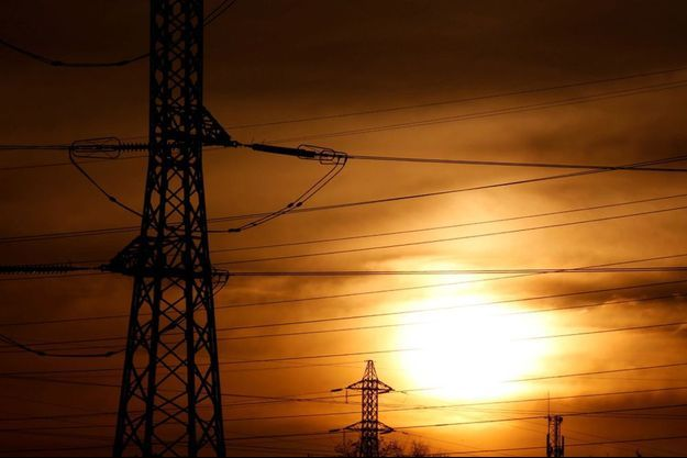 Des poteaux électriques à Bordeaux (image d'illustration).