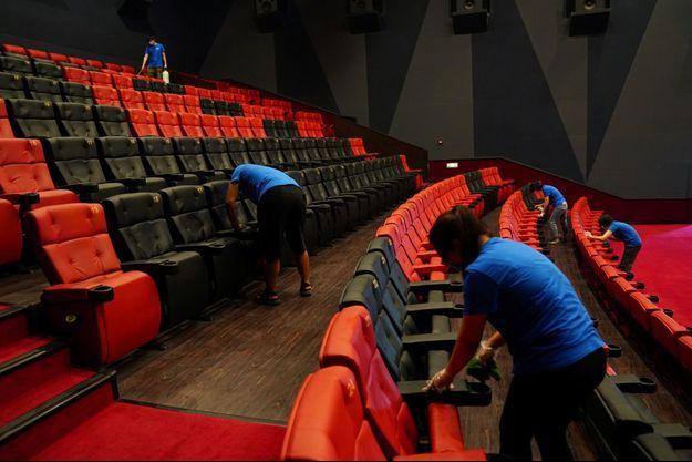 Les salles de spectacles et de cinéma souffrent du manque de clients.