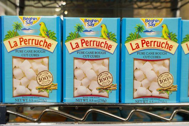 Illustration de lots de sucre Béghin Say