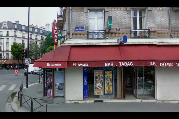 La rue Brillat-Savarin.
